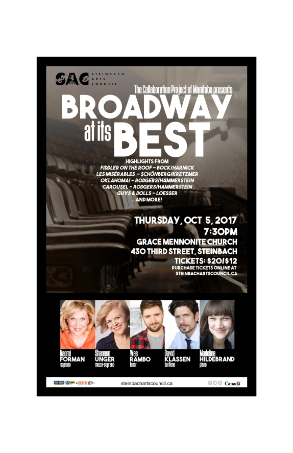 broadway at its best poster inset