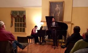 Concert at Alfred University, NY